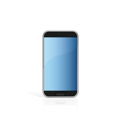 Touch screen cell phone vector