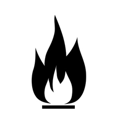 Fire sign 1906 vector