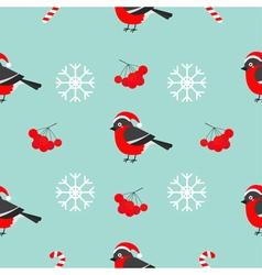 Christmas snowflake rowan rowanberry sorb vector