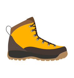 Enduring leather boot vector