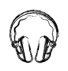 headphone icon image vector image vector image