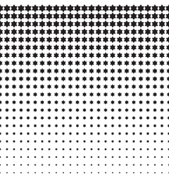 Stars Halftone Pattern vector image vector image