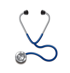 Stethoscope isolated vector