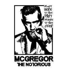 Conor-mcgregor-mma-fighter vector