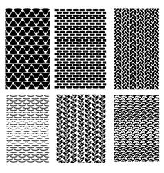 Geometric Ornaments vector image vector image
