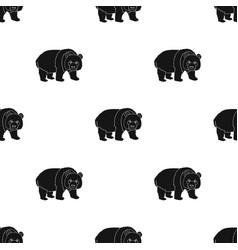 Panda a bamboo bear panda a rare species of vector