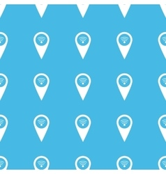 Wi-fi pointer straight pattern vector