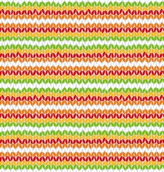 Knitted colorful seamless texture vector