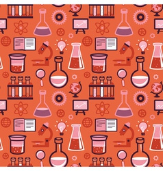 Seamless pattern in flat style vector