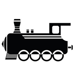 Locomotive vector