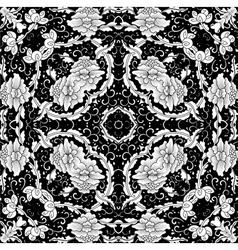 background floral vintage vector image vector image