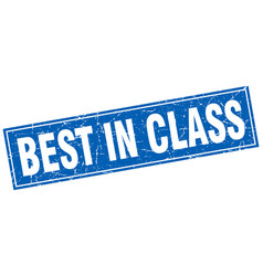 Best in class square stamp vector