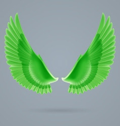 Inspire wings vector image