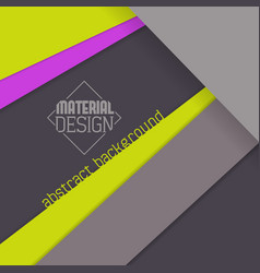 material design wallpaper vector image vector image