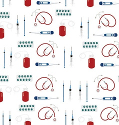 Medical pattern vector image vector image