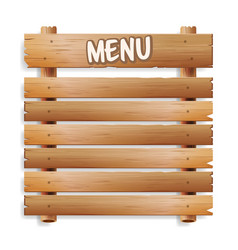 Menu board cafe or restaurant menu bulletin black vector
