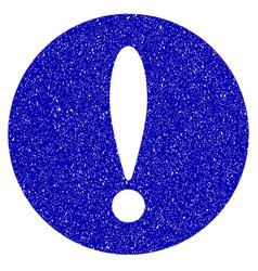 problem icon grunge watermark vector image