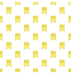 Label perfect quality one hundred percent pattern vector