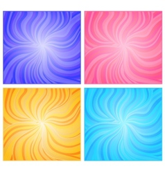 Backgrounds set vector
