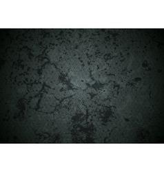 Grunge dark abstract wall texture vector image