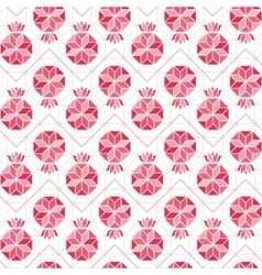 Pomegranate seamless pattern vector