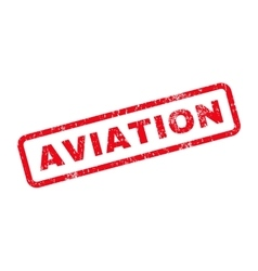 Aviation text rubber stamp vector