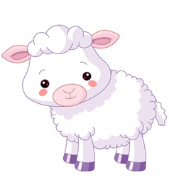 Farm animals lamb vector