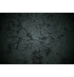 Grunge dark abstract wall texture vector image