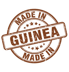 Made in guinea vector