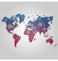 World map connection worldmap template for vector