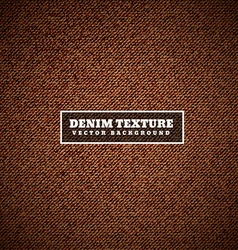 Brown denim texture vector