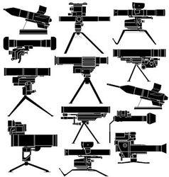 ATGM vector image vector image