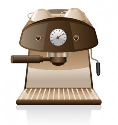 espresso machine vector image