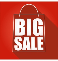Poster big sale vector image vector image