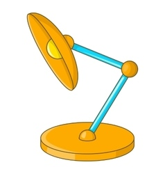 Rearing lamp icon cartoon style vector