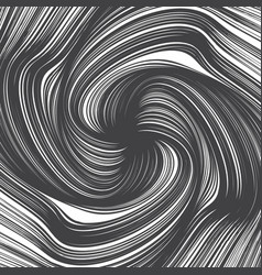 hand drawn abstract twirl lines texture vector image