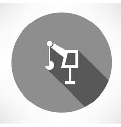 hoisting crane icon vector image