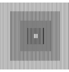 Optical illusion square vector