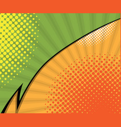 abstract two tone comic book comic book vector image vector image
