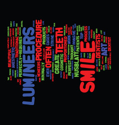 The art of the smile text background word cloud vector