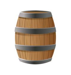 wooden beer oktoberfest beverage drink vector image