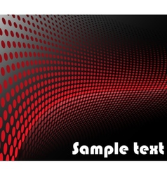Background with red circles vector image