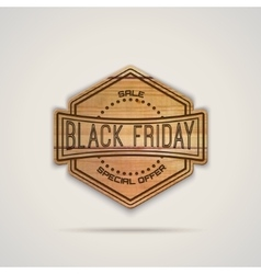Black friday sale insignia and labels for any use vector