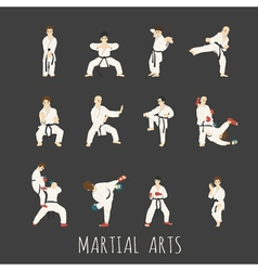 Martial arts  eps10 format vector