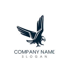 Classic eagle logo vector