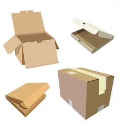packages vector image