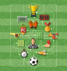 Soccer Concept vector image vector image