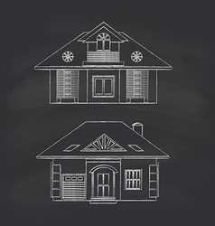Cottages vector