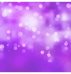 Glittery purple christmas background eps 8 vector