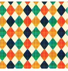 seamless abstract geometric rhombus pattern vector image vector image